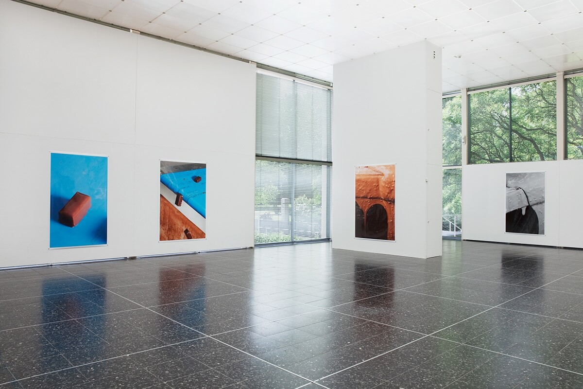 Choco Choco / Capital Decor, Kunstverein im Reuchlinhaus, Pforzheim, 2015<br /> archival pigment prints on glossy paper, 223 x 152 cm