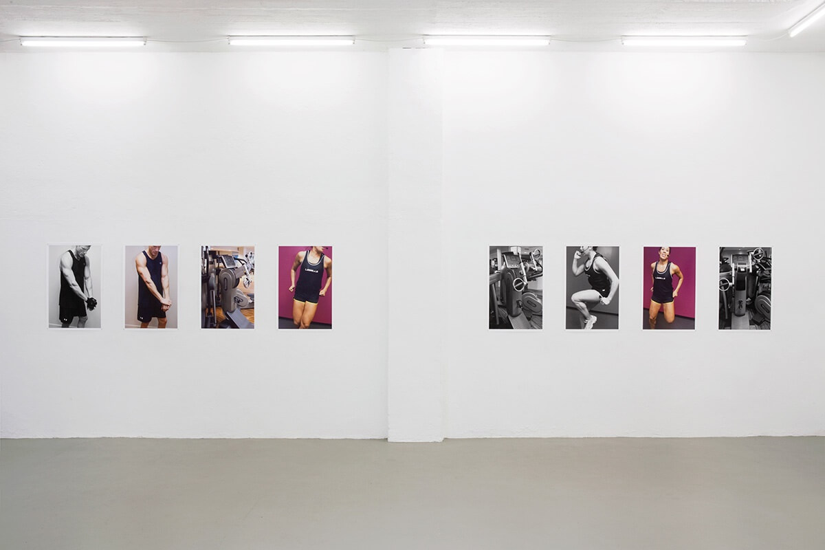 GYM, Galerie Weingrüll, Karlsruhe, 2013