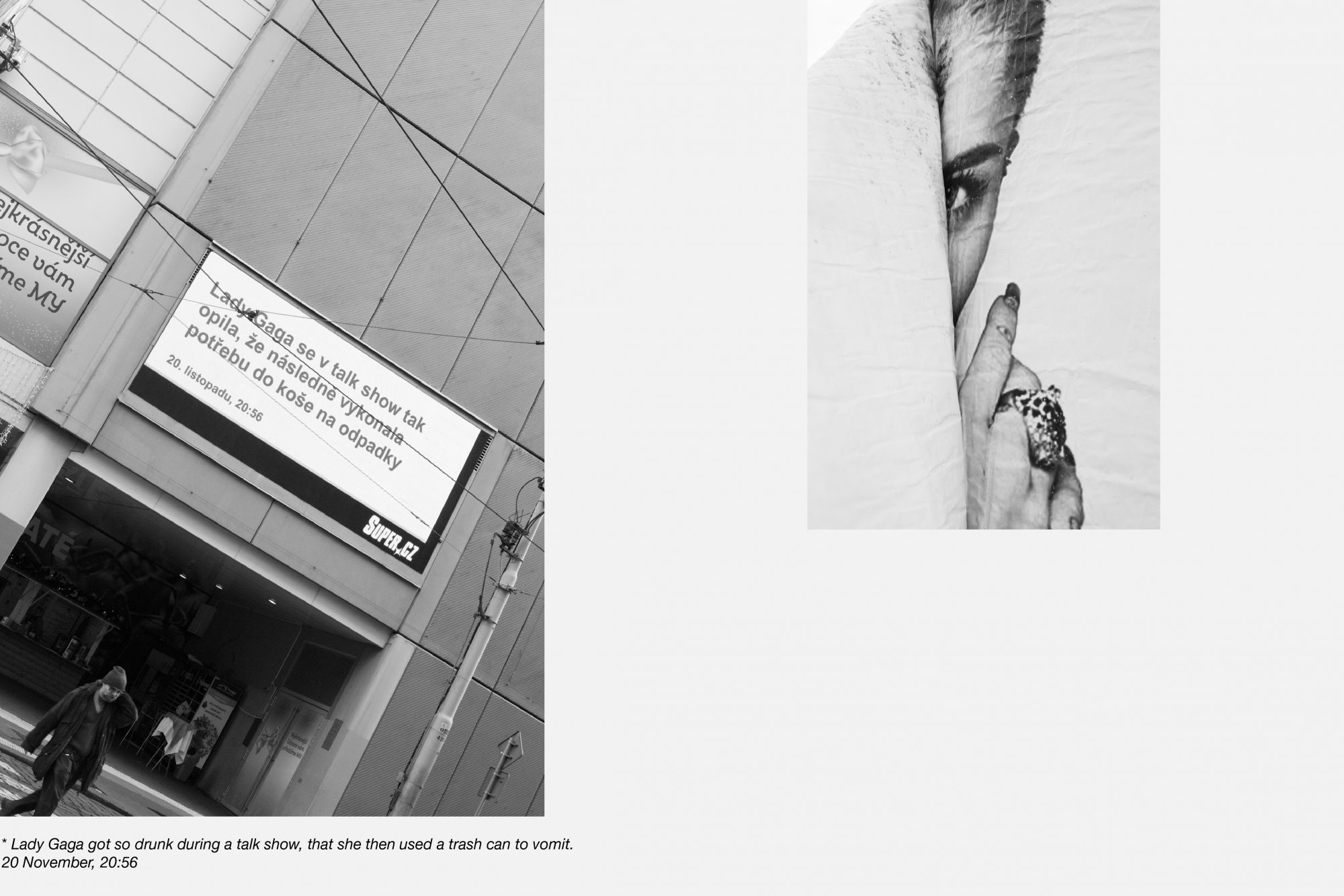 Máj/My, 2016 <br /> inkjet prints, 100 x 66,7 cm and 45 x 30 cm