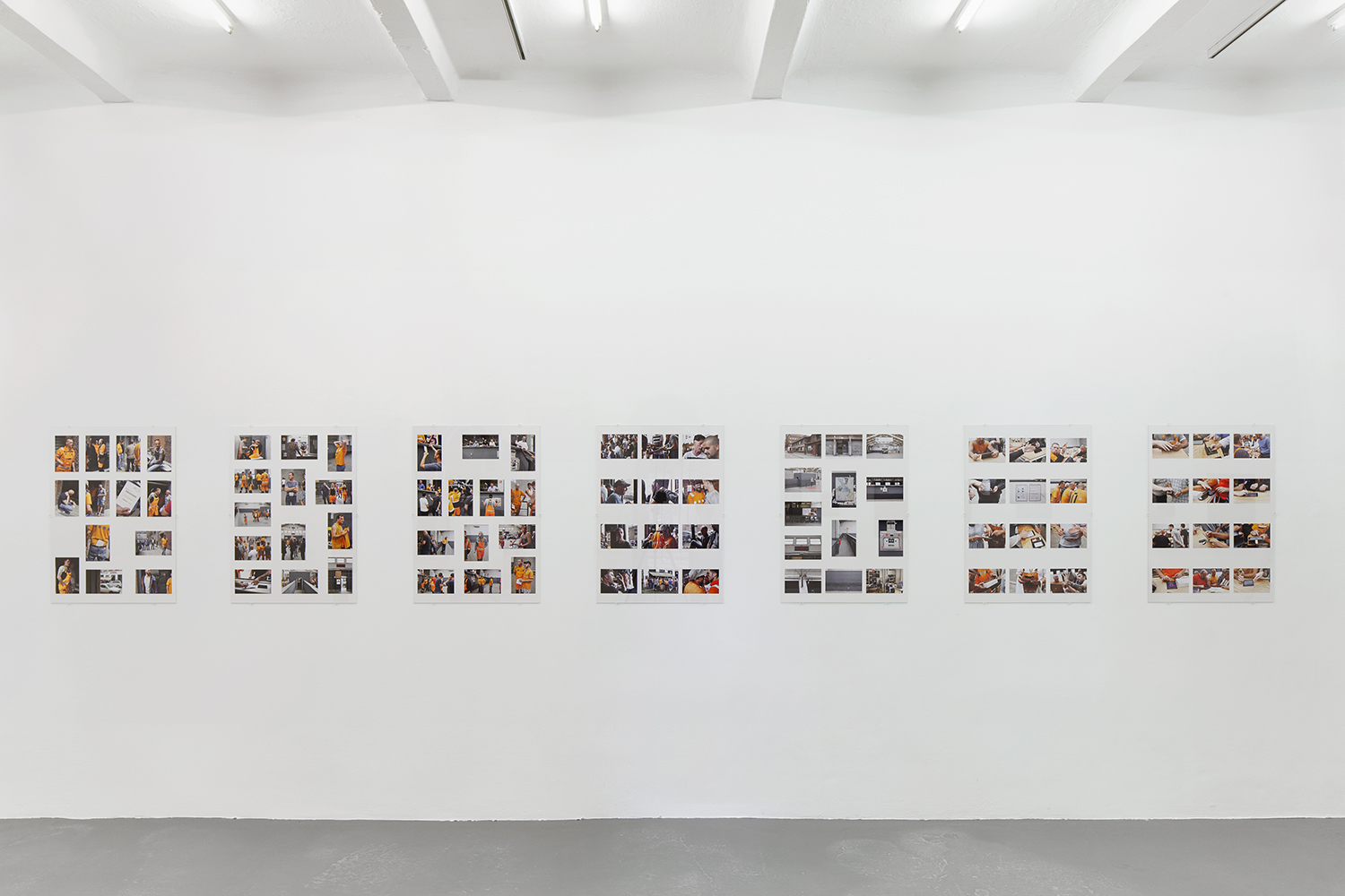 Exhibition view Touch, nGbK, curated by Nadja Quante, Anna Voswinckel, Berlin, 2018<br /> foto: Barbara Proschak